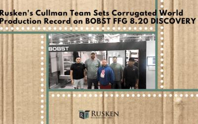 Cullman Team Sets Corrugated Record