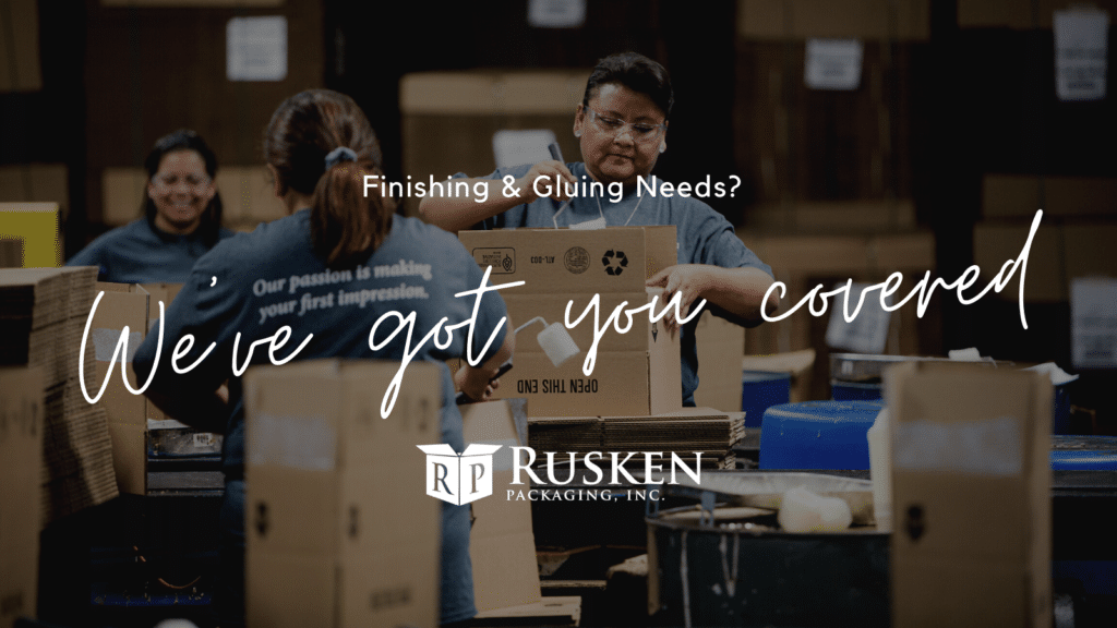 Finishing and Gluing Services