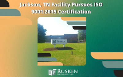 Jackson, TN Facility Pursues ISO 9001:2015 Certification