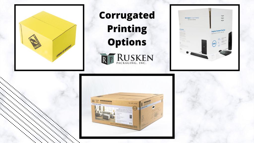3 Corrugated Printing Options