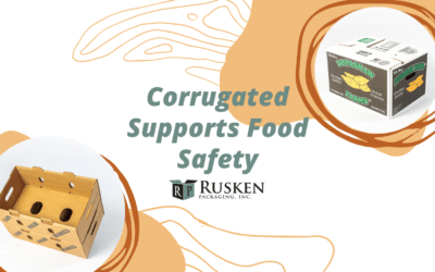 Corrugated Supports Food Safety